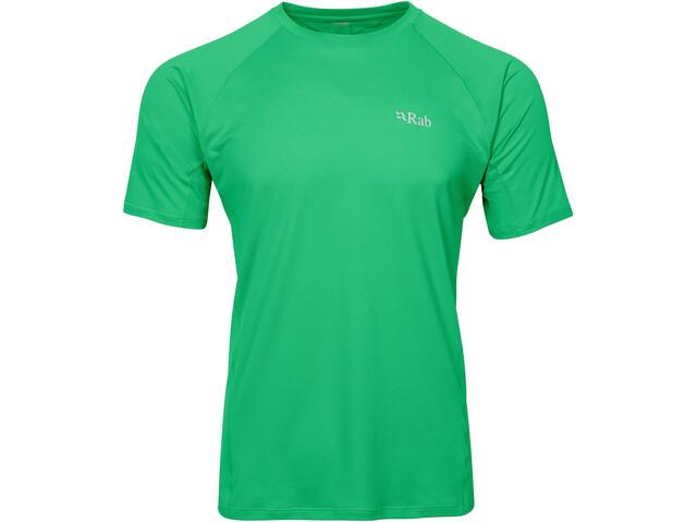 Rab Force Lyhythihainen T-paita Miehet, green
